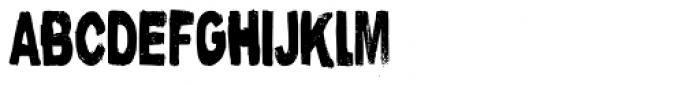 Nutnik Condensed Font LOWERCASE