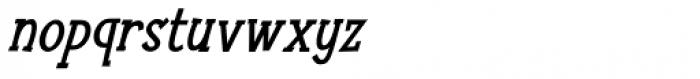 Nuuk Bold Italic Font LOWERCASE