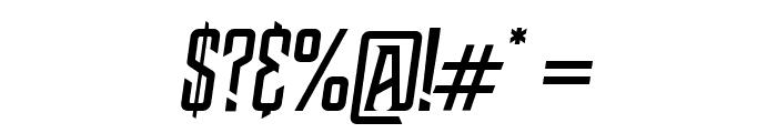 NWBMarvisDisplayPro-Slant Font OTHER CHARS