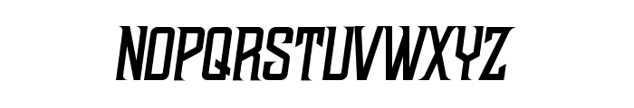 NWBMarvisDisplayPro-Slant Font LOWERCASE