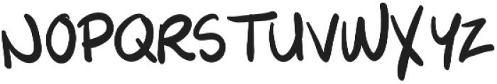 NXO Script otf (400) Font UPPERCASE