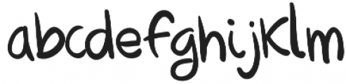NXO Script otf (400) Font LOWERCASE
