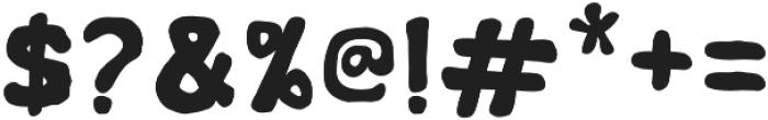 Nyam Regular otf (400) Font OTHER CHARS