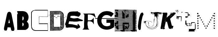 NYC ABC Regular Font UPPERCASE