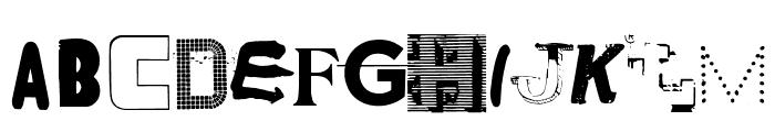 NYC ABC Regular Font LOWERCASE
