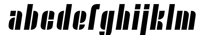Nyamomobile Font LOWERCASE