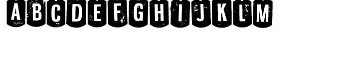 Nyxali Regular Font UPPERCASE