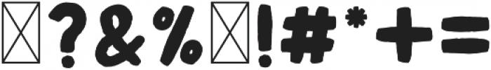 OAKWOOD SOLID Regular otf (400) Font OTHER CHARS
