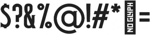 Oak Barrel otf (400) Font OTHER CHARS