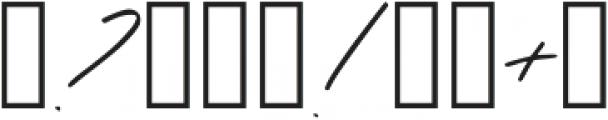 Oakley Caps Regular otf (400) Font OTHER CHARS
