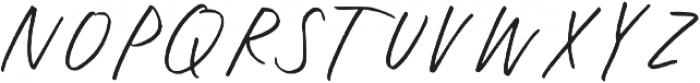 Oakley Caps Regular otf (400) Font UPPERCASE