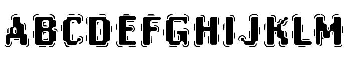 Oak-Marsquake Font UPPERCASE