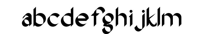 Oak Wood Font LOWERCASE