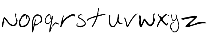 Oakhill Font LOWERCASE