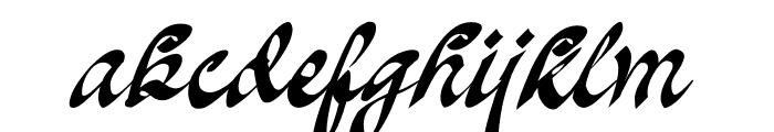 Oakland Font LOWERCASE