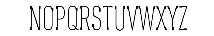 Oaxaque?a Tall Font UPPERCASE