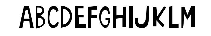 oArbust Font LOWERCASE