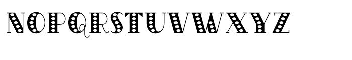 Oak Park Speckled Font LOWERCASE