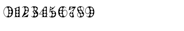 Oak Park Squared Font OTHER CHARS