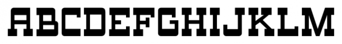 Oak Ridge JNL Regular Font LOWERCASE