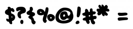 Oak Street Regular Font OTHER CHARS