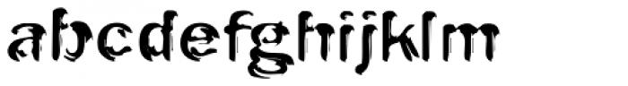 Oak EF Engraved Font LOWERCASE