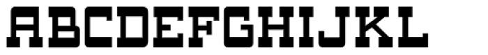 Oak Ridge JNL Font LOWERCASE