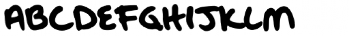 Oak Street Font UPPERCASE