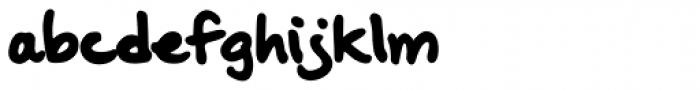 Oak Street Font LOWERCASE