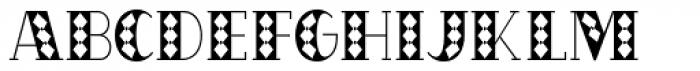 OakPark Square Font UPPERCASE