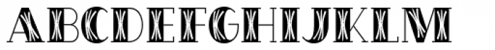 OakPark Square Font LOWERCASE