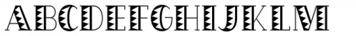OakPark Ziggy Font UPPERCASE