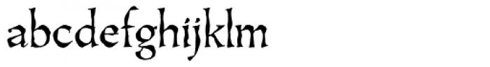 Oakgraphic Lx Regular Font LOWERCASE