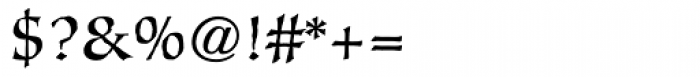 Oakgraphic Regular Font OTHER CHARS