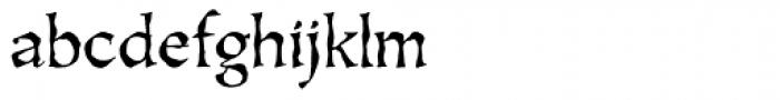 Oakgraphic Regular Font LOWERCASE