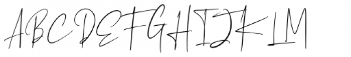 Oaklinn Regular Font UPPERCASE