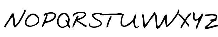 Oakland Regular Font UPPERCASE