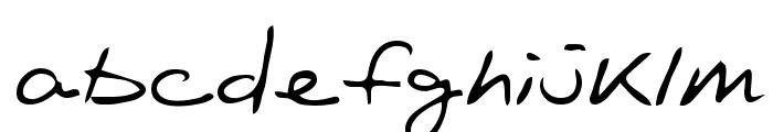 Oakland Regular Font LOWERCASE