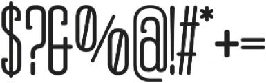 Obcecada Serif Bold ttf (700) Font OTHER CHARS