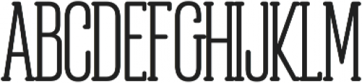 Obcecada Serif Bold ttf (700) Font UPPERCASE