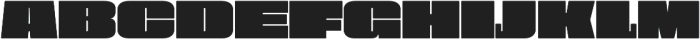 Obesum Caps Extra Black Expanded otf (900) Font UPPERCASE