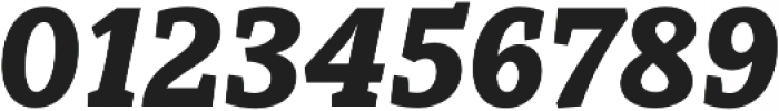 Obla Black Italic otf (900) Font OTHER CHARS