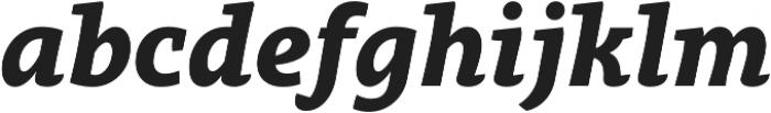 Obla Black Italic otf (900) Font LOWERCASE