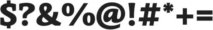 Obla Black otf (900) Font OTHER CHARS