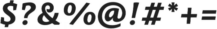 Obla ExtraBold Italic otf (700) Font OTHER CHARS