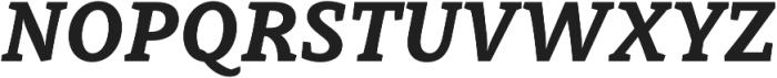 Obla ExtraBold Italic otf (700) Font UPPERCASE