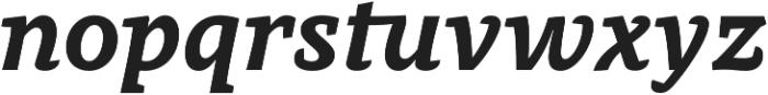 Obla ExtraBold Italic otf (700) Font LOWERCASE