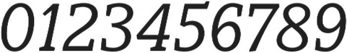 Obla Italic otf (400) Font OTHER CHARS