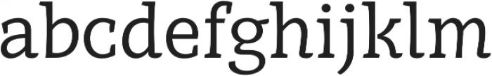 Obla Regular otf (400) Font LOWERCASE