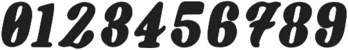 Oblique Bold otf (700) Font OTHER CHARS